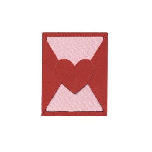 Lifestyle Crafts - Die Cutting Template - Mini Valentine