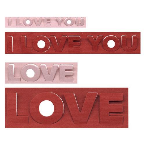 We R Memory Keepers - Die Cutting Template - Love Pop-ups