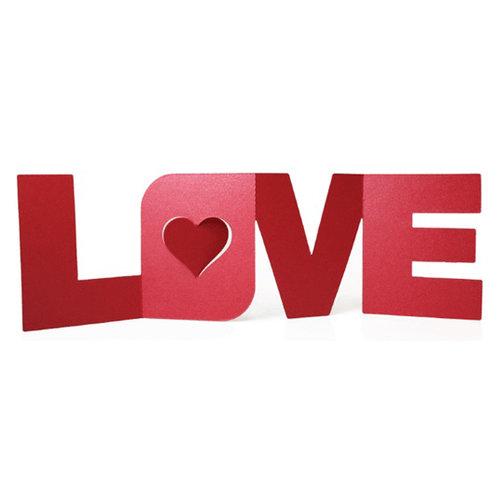 We R Memory Keepers - Die Cutting Template - Love Fold Card