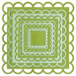 Lifestyle Crafts - Quickutz - Cookie Cutter Dies - Nesting Lace Squares