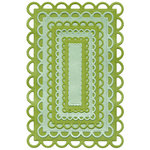 We R Memory Keepers - Cookie Cutter Dies - Nesting Lace Rectangles