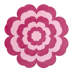 Lifestyle Crafts - Quickutz - Cookie Cutter Dies - Nesting Blossom
