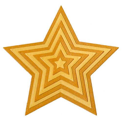 Lifestyle Crafts - Quickutz - Cookie Cutter Dies - Nesting Star