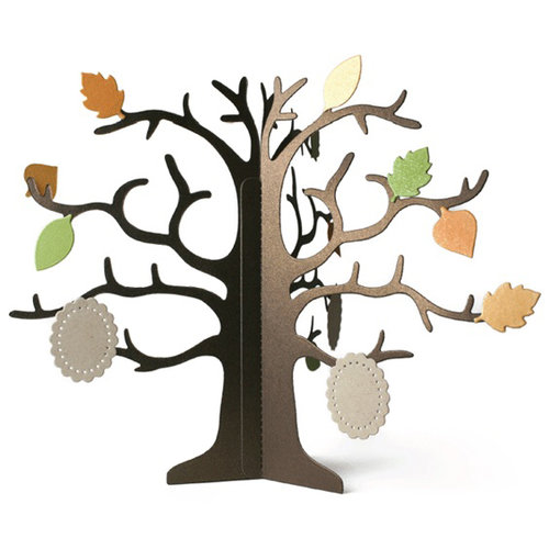 Lifestyle Crafts - Die Cutting Template - Dimensional Tree