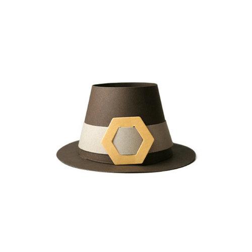 We R Memory Keepers - Die Cutting Template - Pilgrim Hat