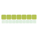 Lifestyle Crafts - Quickutz - Cookie Cutter Dies - Rounded Squares