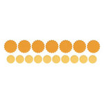 Lifestyle Crafts - Quickutz - Cookie Cutter Dies - Scallop Circles