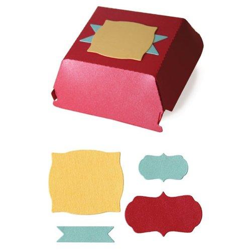 Lifestyle Crafts - Quickutz - Cookie Cutter Dies - Hamburger Box