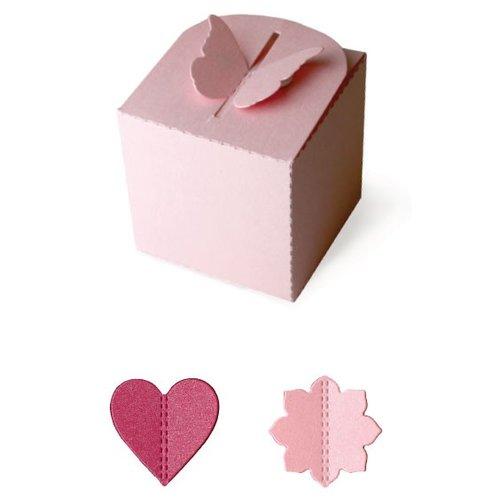 Lifestyle Crafts - Quickutz - Cookie Cutter Dies - Pop-up Box