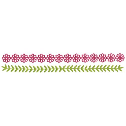 Lifestyle Crafts - Quickutz - Border Dies - Garden