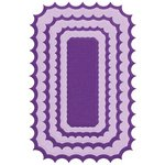 Lifestyle Crafts - Quickutz - Die Cutting Template - Nesting Inverted Rectangle