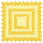 Lifestyle Crafts - Quickutz - Die Cutting Template - Nesting Pinking Square