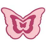 Lifestyle Crafts - Quickutz - Die Cutting Template - Nesting Butterfly