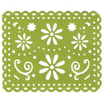 Lifestyle Crafts - Die Cutting Template - Cheerful Doily