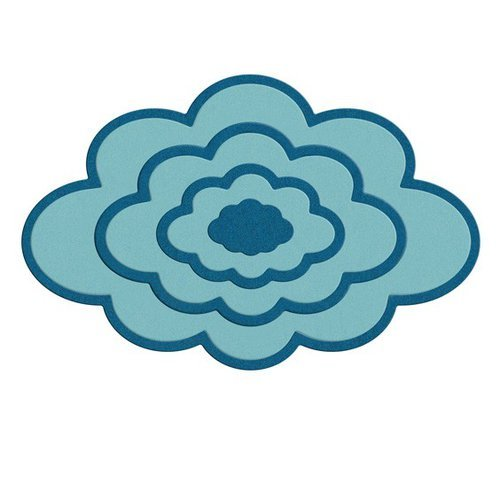 Lifestyle Crafts - Quickutz - Cookie Cutter Dies - Nesting Clouds