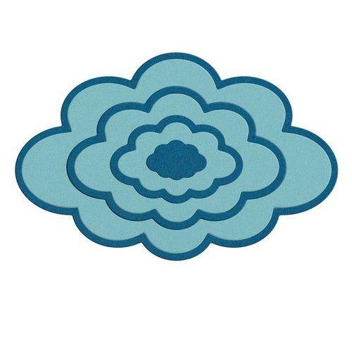 Lifestyle Crafts - Quickutz - Cookie Cutter Dies - Nesting Clouds