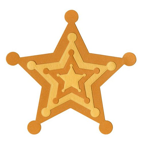 Lifestyle Crafts - Quickutz - Cookie Cutter Dies - Nesting Stars