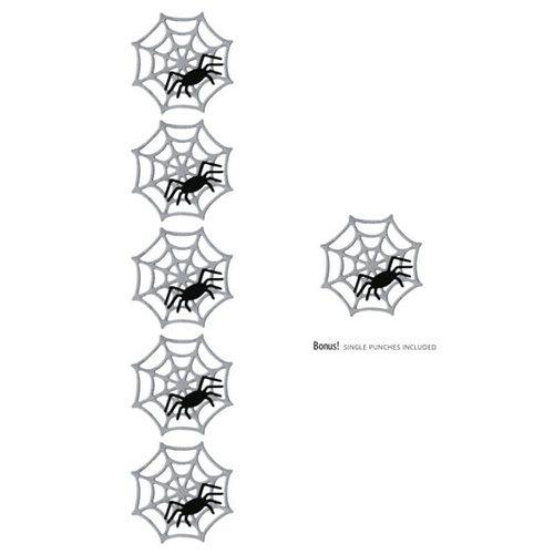 Lifestyle Crafts - Die Cutting Template - Spiderweb Punches