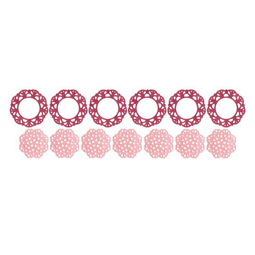 We R Memory Keepers - Die Cutting Template - Doily Punches