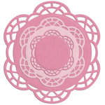 Lifestyle Crafts - Die Cutting Template - Nesting Doilies