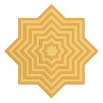 Lifestyle Crafts - Die Cutting Template - Nesting Medallions