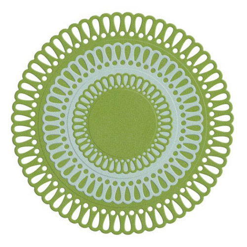 We R Memory Keepers - Die Cutting Template - Nesting Floral Doilies