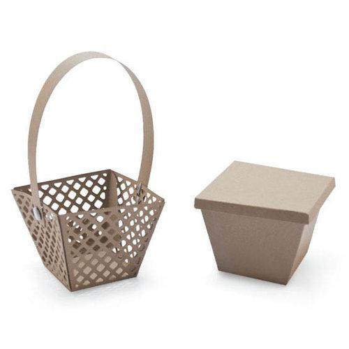Lifestyle Crafts - Die Cutting Template - Basket