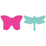 Lifestyle Crafts - Detailz Dies - Die Cutting Template - Flutter