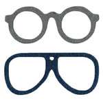 Lifestyle Crafts - Die Cutting Template - Glasses