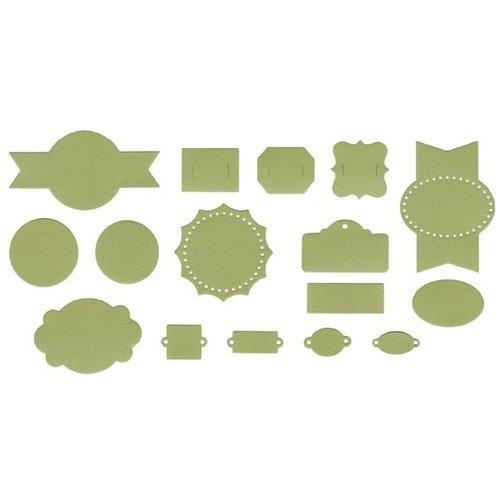 Lifestyle Crafts - QuicKutz - It Kits - Cookie Cutter Dies - Label