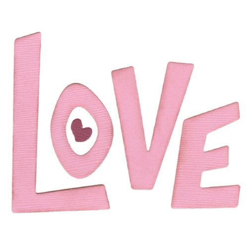 We R Memory Keepers - Die Cutting Template - Love Letters