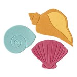 Lifestyle Crafts - Die Cutting Template - Sea Shells