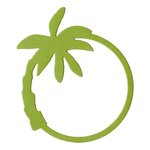 Lifestyle Crafts - Die Cutting Template - Palm Tree Frame