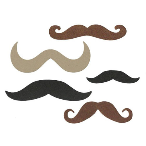 Lifestyle Crafts - Die Cutting Template - Mustaches