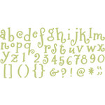 QuicKutz - All-on-One Mini Unicase Alphabet Die Set - Dragonfly, CLEARANCE