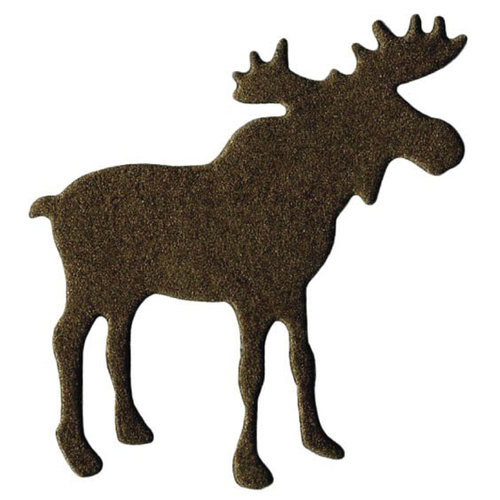 Lifestyle Crafts - Die Cutting Template - Moose