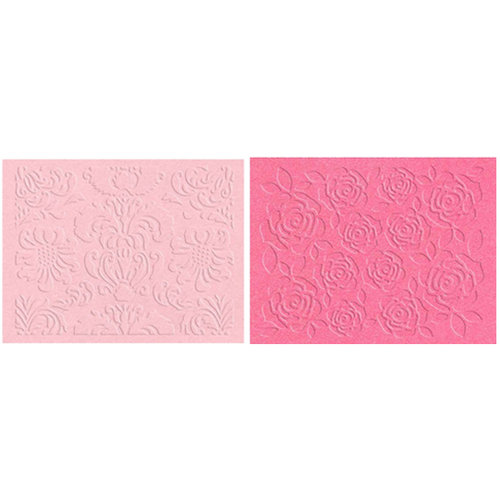 Lifestyle Crafts - QuicKutz - Embossing Folders - Floral