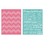 We R Memory Keepers - Embossing Folders - Happy Birthday