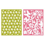 Lifestyle Crafts - QuicKutz - Embossing Folders - Floret