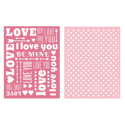 We R Memory Keepers - Embossing Folders - Sweetheart