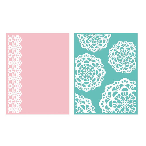 We R Memory Keepers - Embossing Folders - Doily