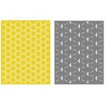 Lifestyle Crafts - Embossing Folders - Honeycomb