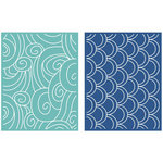 Lifestyle Crafts - Embossing Folders - Tide