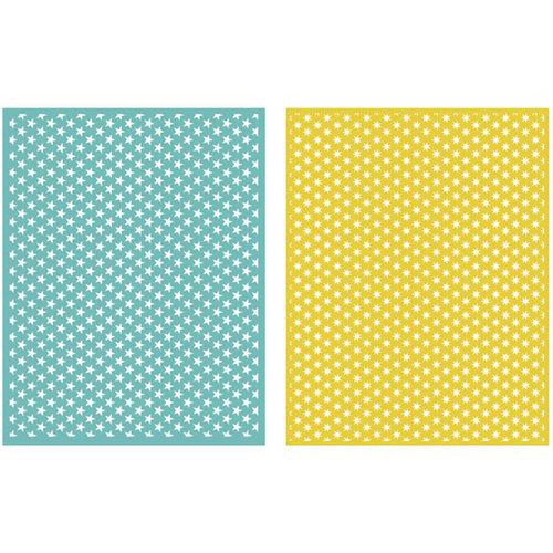 Lifestyle Crafts - GooseBumpz Embossing Folders - Twinkle