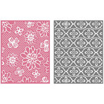 We R Memory Keepers - GooseBumpz Embossing Folders - Flower Patch