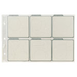 QuicKutz - All-in-One - EZ-Store Die Sheets - Holds Six 4 x 4 Dies