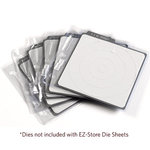 We R Memory Keepers - EZ-Store Die Sheets - Holds 4 Inch Revolution Dies
