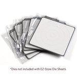 We R Memory Keepers - EZ-Store Die Sheets - Holds 4 Inch Revolution Dies