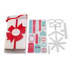 Lifestyle Crafts - Die Cutting Template - Christmas - Knotty Gift Set