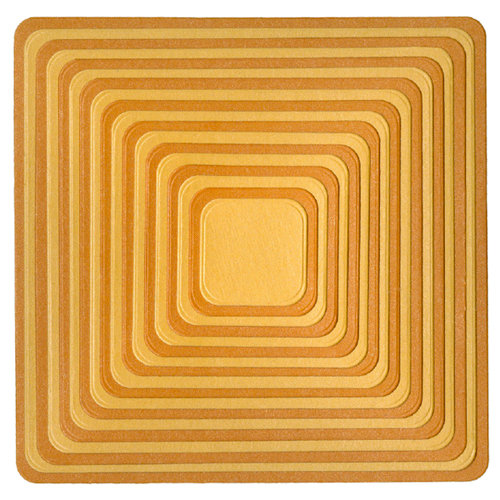 Lifestyle Crafts - Quickutz - Die Cutting Template - Nesting Rounded Squares